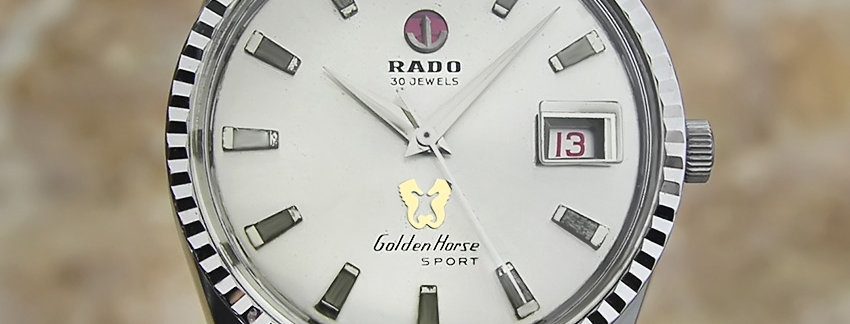 Rado Golden Horse Sport Vintage Watch