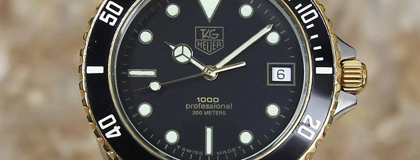 Tag Heuer 1000 980.020B Men's Swiss Watch | WatchArtExchange