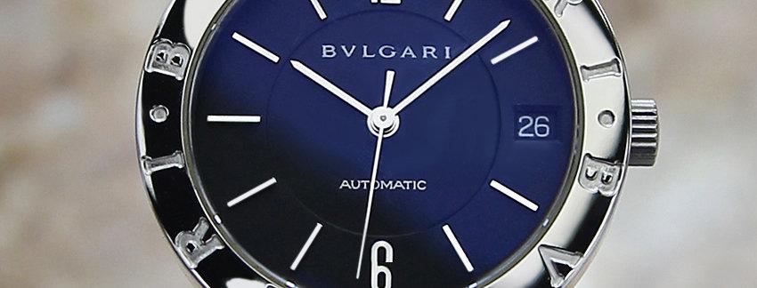Bulgari BB33 SL Luxury Men's Watch
