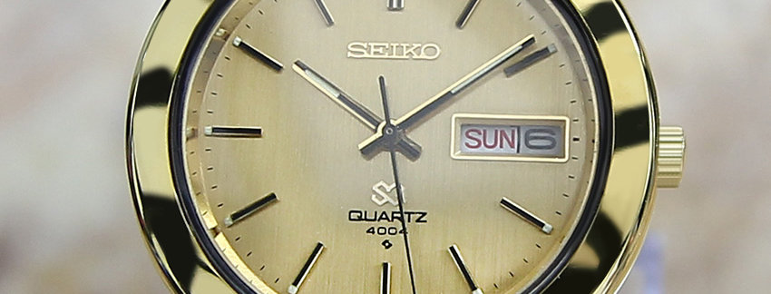 Seiko SQ 4004 Watch for Men | WatchArtExchange