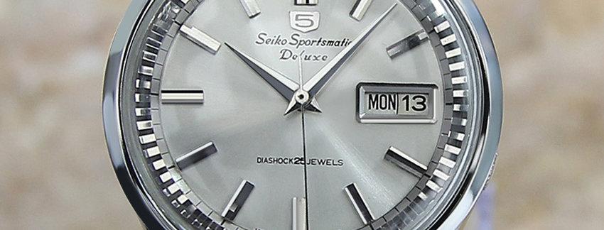 Seiko 5 Sportsmatic 7619 7060 Watch for Men | WatchArtExchange