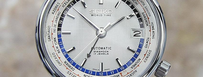 Seiko World Time 6217-7000 Watch for Men | WatchArtExchange