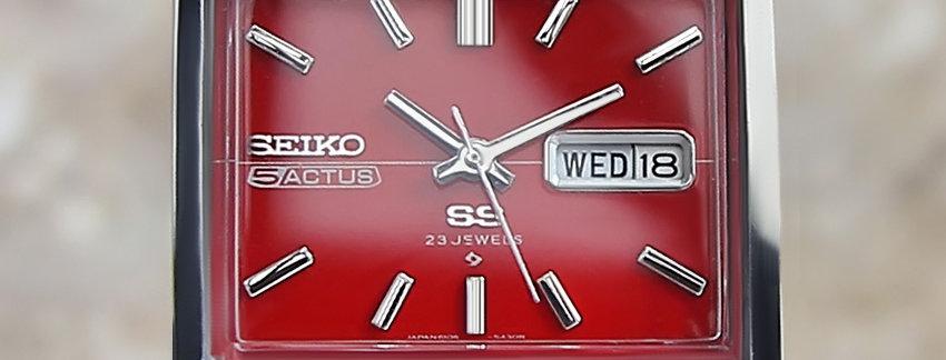1975 Seiko Actus Watch