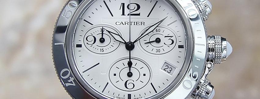Cartier Pasha Seatimer 3129 Unisex Watch