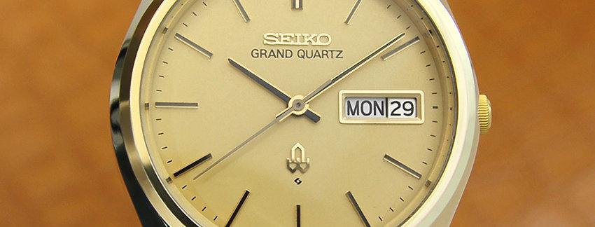1977 Grand Quartz 4843 8110 Men's Watch