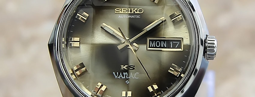 1970s King Seiko Vanac JA38  Men's Watch