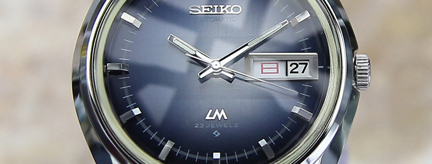 1973 Seiko LM Lord Matic Watch