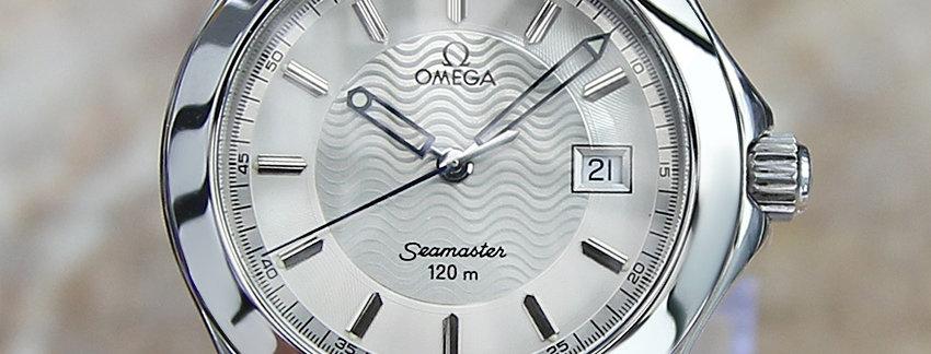 Omega Seamaster Men's Luxury Watch