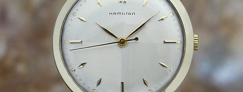 1950s Hamilton 10K Gold Filled  Rare Vintage Watch