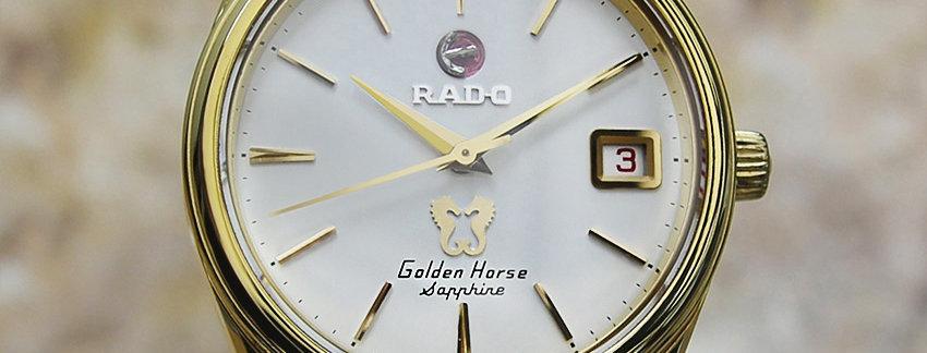 Rado Golden Horse Sapphire Men's Watch