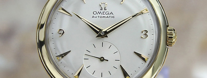 Omega 14K Gold-Filled 32mm Vintage Watch