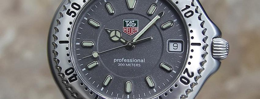 AuthenticTAG Heuer WG1113 Men's Luxury Watch | WatchArtExchange
