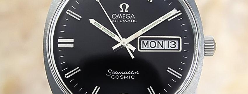 1960's Omega Seamaster Cosmic Watch