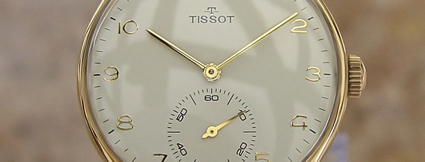 Tissot 18k Gold 1960s 4010574 Men's Vintage Dress Watch | WatchArtExchange