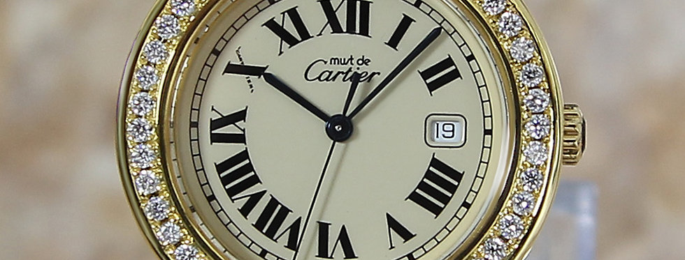 Luxury Cartier Must De Cartier Watch