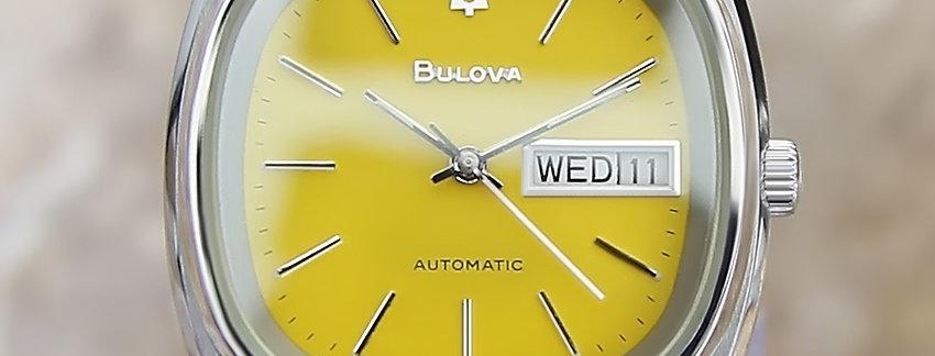 Bulova Day Date 34mm Men's Watch