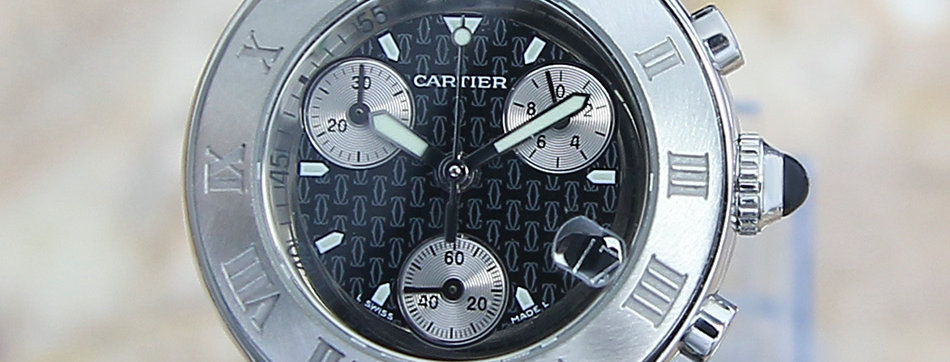 Cartier Chronoscaph Mid Size 32mm Chronograph Watch