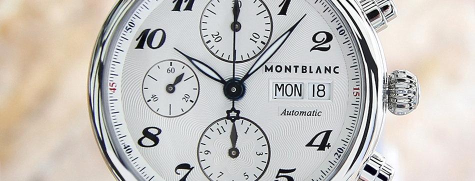 Montblanc 7201 Rare Automatic Chronograph Watch