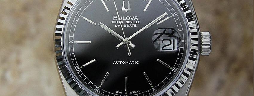 Stainless Steel Bulova Super Seville Men's Watch