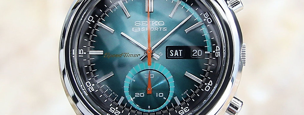 1975 Seiko 5 Sports Speed Timer Watch