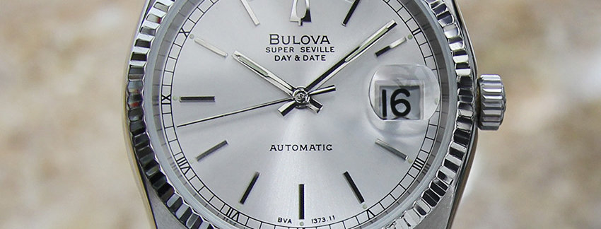 Silver Dial Bulova Super Seville Men's Watch