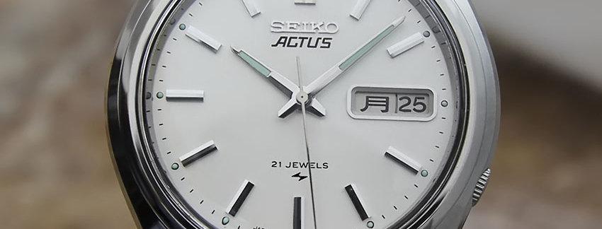 Seiko Actus Vintage 7019 8010 Watch for Men | WatchArtExchange