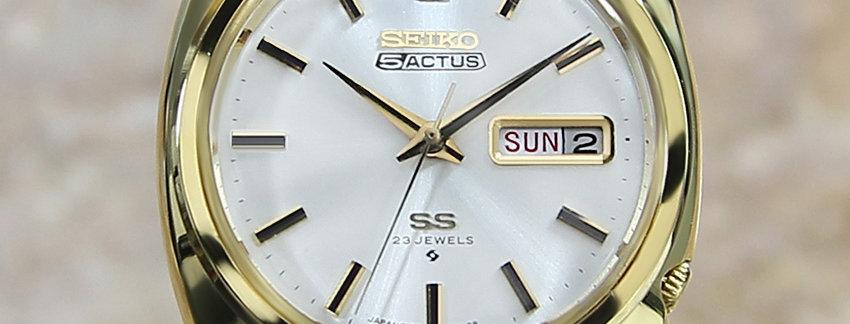 1972 Seiko 5 Actus 6106 8420 Watch