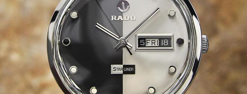 1960s Rado Starliner Daymaster Men's Watch