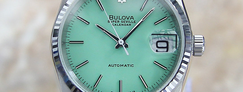 36mm Bulova Super Seville Swiss Made Men's Watch
