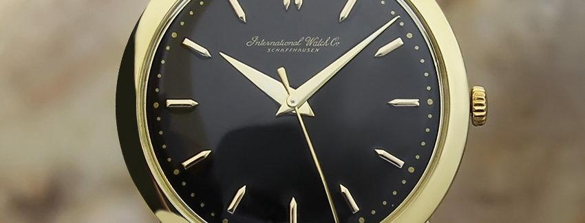 IWC 8k Gold Vintage Men's Watch