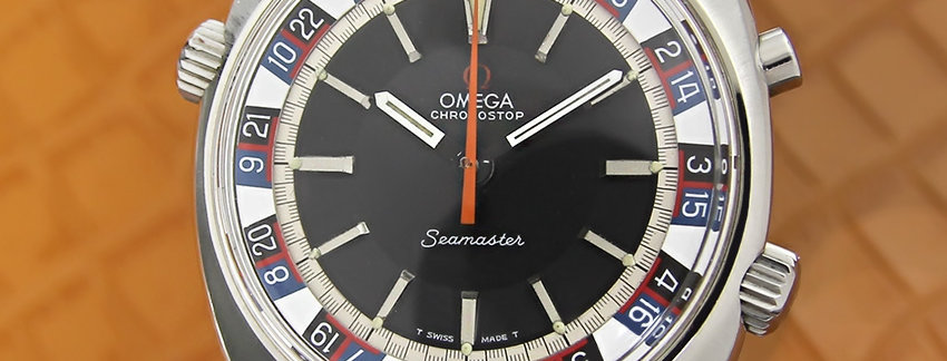 Omega Seamaster Roulette 145 008 Men's Watch