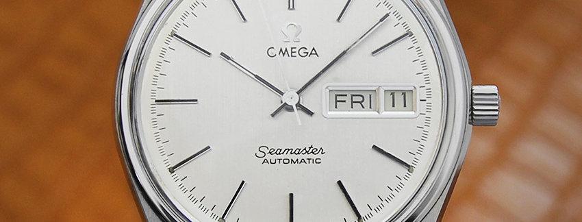 Omega Seamaster 40mm Vintage Watch