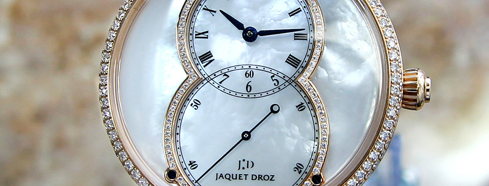 Jaquet Droz Grande Seconde Diamond Watches on Sale