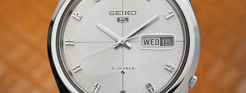Seiko 5 Reference 6119 8020 Men's Watch