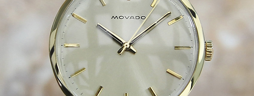 Movado Vintage Watches on Sale