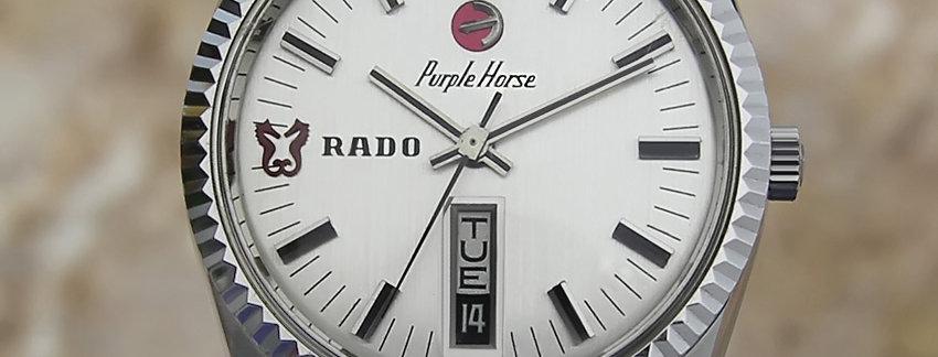 Rado Purple Horse 36mm Men's Watch