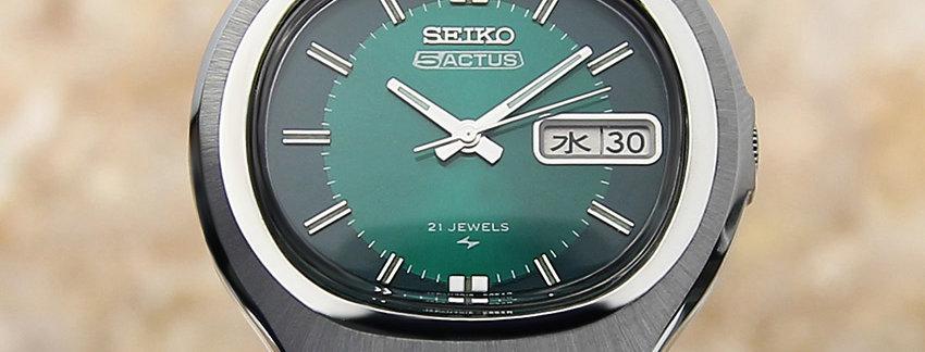 1976 Seiko 5 Automatic 7019 5010 - Sell Watch   WatchArtExchange
