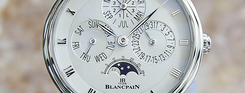 Blancpain Platinum Watch for Men