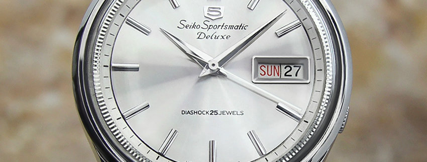 Seiko 5 Sportsmatic 7619 9000 Men's Watch