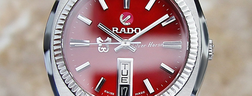 Rado Silver Horse 1970's Men's Watch