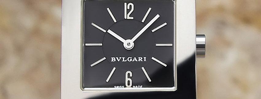 Bulgari Quadrato SQ 22  Lady's Watch