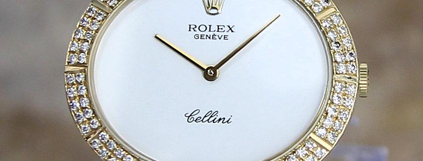Rolex Cellini 4083  18k Gold Men's Watch