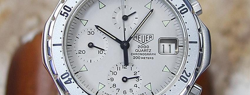 Tag Heuer 2000 Ref 272 006-1  Men's Watch
