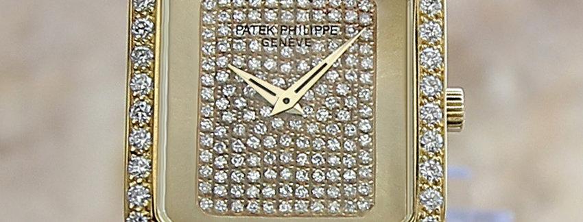 Patek Philippe 38421 Diamond 18k Gold Watch