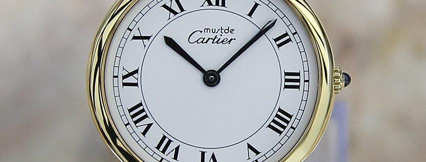 Cartier Must De Cartier Vermeil 925 Unisex Watch