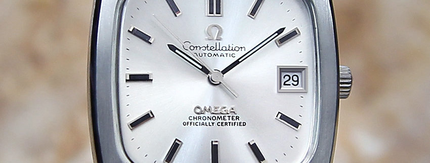 Omega Constellation Watches on Sale