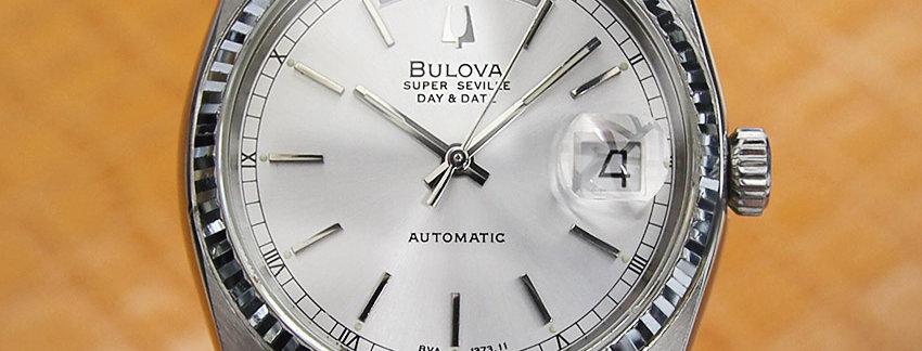 Bulova JD8 Super Seville Swiss Made Men's Watch