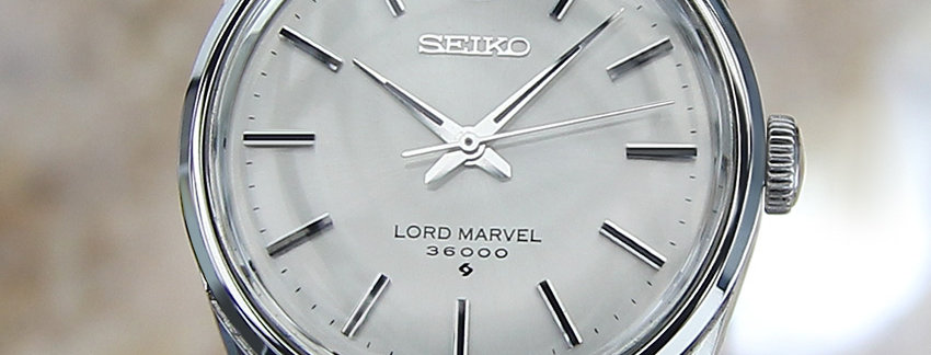 Seiko Lord Marvel 36000 5740 Men's Watch