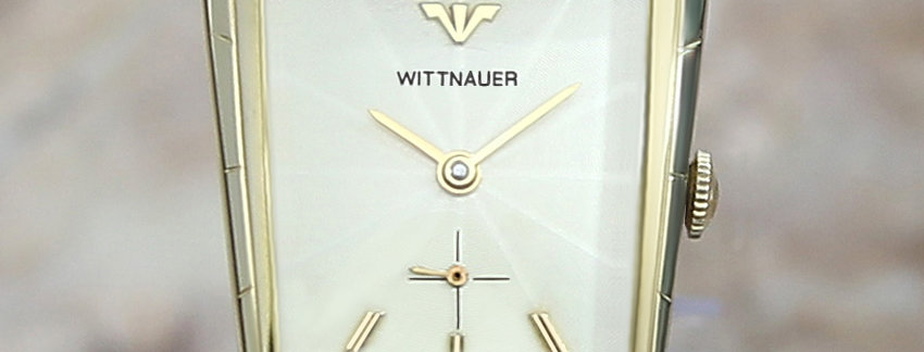 Wittnauer Longines Gold Filled 1950 Men's Dress Watch For Sale