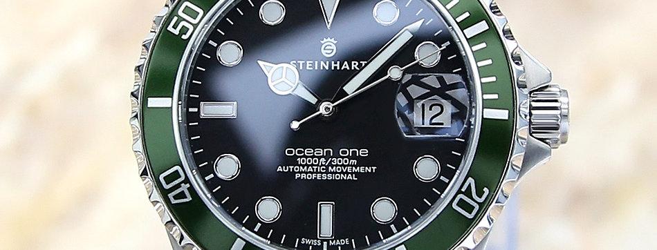 Steinhart Ocean Thirty Nine Swiss 39mm Diver Auto 2017 Watch